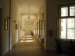 Corridor leading to piano-classrooms